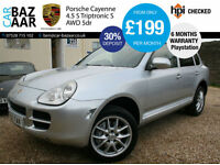 Porsche Cayenne 4.5 S Tiptronic S auto+REAR ENTERTIANMENT+PLAYSTATION+