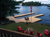 Crib Docks - New and Repairs - Muskoka Builders