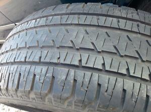4 x 275/55R20 Bridgestone Dueler truck tires, 50% tread