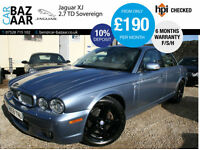 Jaguar XJ Series 2.7TDVi auto XJ Sovereign+F/S/H+OCT 17 MOT+BEST COLOUR+3 KEYS+