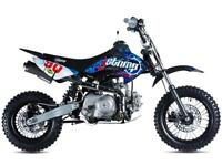 STOMP JUICEBOX 90 ELECTRIC START PIT BIKE MOTOCROSS OFF ROAD @ RPM OFFROAD LTD