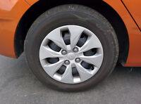 *NEW; MUST GO* Hyundai Accent OEM Steel Rims (+Caps) and Tires