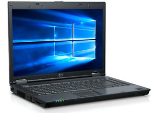 HP Compaq 8510 Notebook/HDMI/4G/500HDD/2.4GHZ/CORE2DUO/WIN10PRO