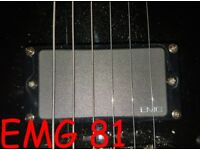 EMG 81 AND 85 SET ** QUICK CONNECT ** 6 String Pickups