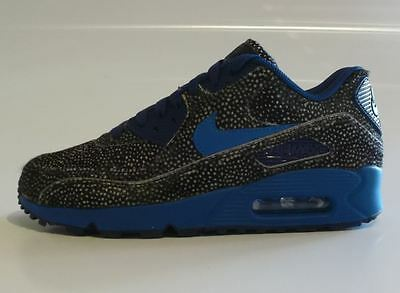 [NEU] Nike Air Max 90 Premium ID Gr 38,5 leopard navy blue game royal 807505