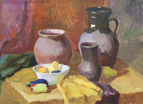 How to Buy an Antique Gouache Painting