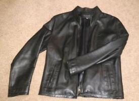 Men's leather jacket - rarely used. Excellent quality and bought new