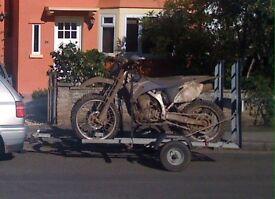 2 motorbike trailer