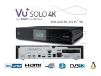Vu+ Solo 4k Satellite Receiver Very Powerful UHD Linux Enigma 2