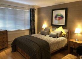 Oak furniture land double bed - mango wood