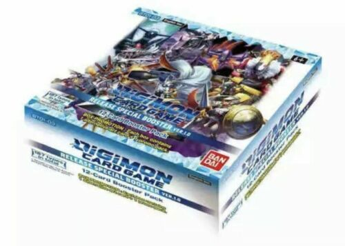 Digimon TCG V 1.0 ENGLISH Core Booster Box Special Release 2020 IN STOCK SEALED