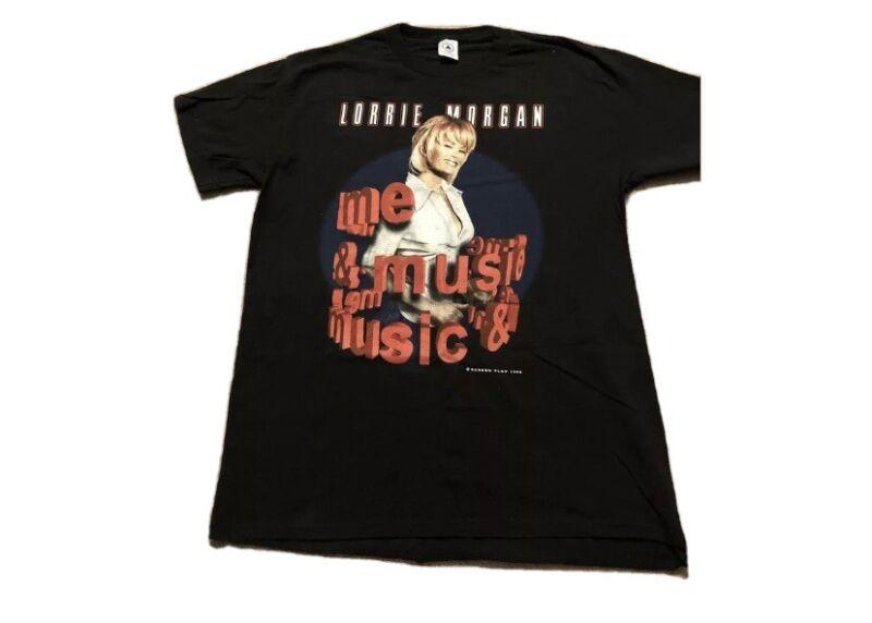 Vintage Lorrie Morgan The Music & Me 1998 Tour T Shirt Size XXL