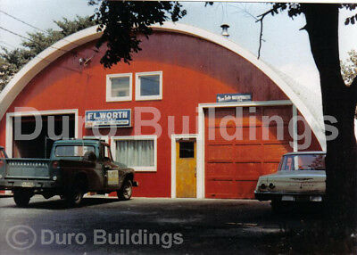 Durospan Steel 30x36x14 Metal Building Kit Diy Home Workshop Open Ends Direct