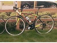 Road Bike - SRAM Rival - Full Carbon PlanetX Holdsworth Stelvio - Small