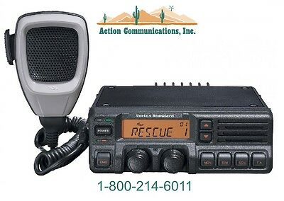 New Vertexstandard Vx-5500 Uhf 450-490 Mhz 50 Watt 250 Channel Two Way Radio