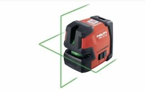 Hilti brand new PM2-LG GREEN BEAM LINE LASER