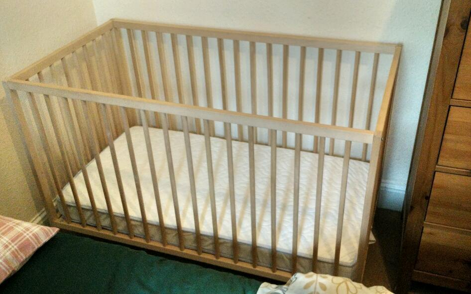 Baby COTIkea Sniglar Cotin Holyrood, EdinburghGumtree - Ikea Sniglar cot and John Lewis mattresExcellent condition2 different heighsFlat Dismantled and ready to goFrom smoke/ pet free homeIf you are interested text me