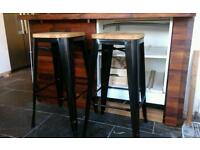 Brand new bar stools.