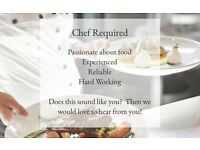 Chef required for Country Hotel and Restaurant