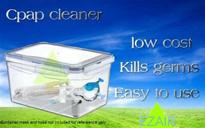 CPAP  mask  hose water tank Cleaner Sanitizing Machine fresh clean and easy