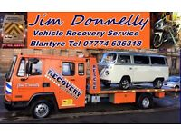 Jim Donnelly Roadside Recovery Blantyre