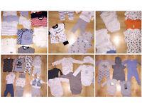 Bundle of baby boys clothing!