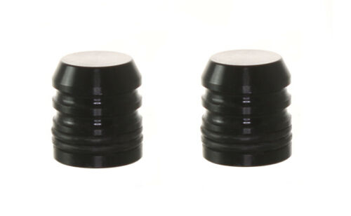 (2) SCONI PAINTBALL METAL COMPRESSED AIR TANK FILL NIPPLE DUST COVERS