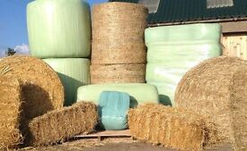 Haylage, Hay and Straw Bales available in different sizes