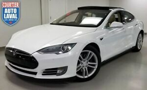 2015 Tesla Model S 85D- AWD - CLIMATE PACK - PANO ROOF