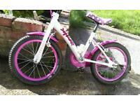 Girls lovely bike