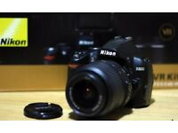 Nikon D3000 Digital SLR Camera with 18-55mm VR Lens Kit in mint condition