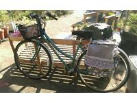 Ladies Ridgeback Vista hybrid bike