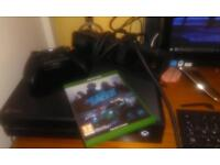 Xbox one 500GB + Kinect + need for speed