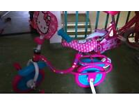 Girks bike hello kitty in good condition