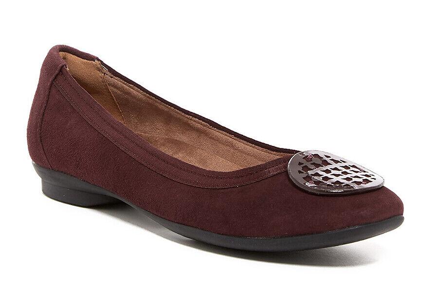 New Clarks Candra Blush Flat Leather Women Shoes Sz. 8.5 - 9