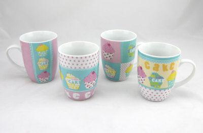 10cm Teebecher Kaffeebecher Becher Teetasse Kaffeetasse (Cupcake-tasse)