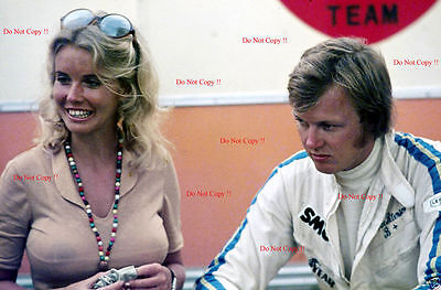 Ronnie Peterson & Barbro Peterson Early Career Portrait Photograph