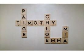 Scrabble Wall Art only £2.75 per letter!!