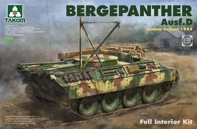 Takom (三花) 1/35 Bergepanther Ausf.D w/interior #2102  *New release*