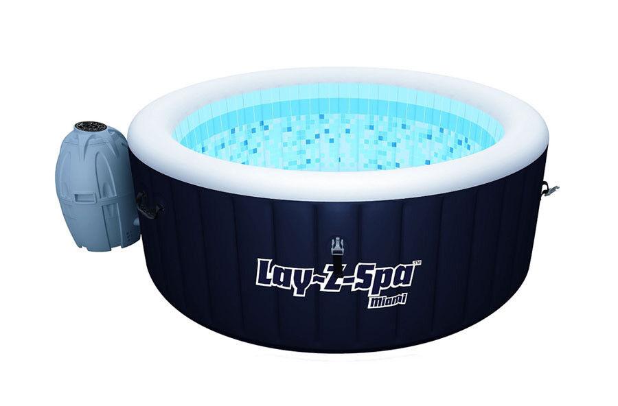 Hot tub jacuzzi LAY-Z SPA Bestway swiming pool new order in black