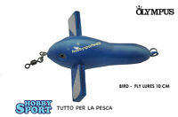 Olympus Bird Per Traina Cm 10 Col. Blue Fly Lure - olympus - ebay.it