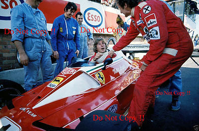 James Hunt & Niki Lauda F1 Portrait 1977 Photograph 3