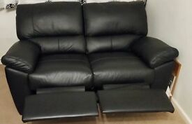 X2 Two Seater Leather Recliner Sofas