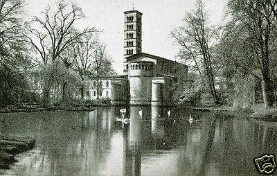 Foto Potsdam , Sanssouci , Friedenskirche  , Anfang der 40er Jahre
