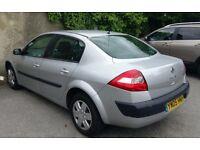 2005 Renault MEGANE 1.6 automatic Saloon Low mileage , 11 months MOT