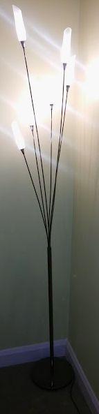 Hyatt floor lamp brushed chrome 172cm in headingley west hyatt floor lamp brushed chrome 172cm aloadofball Choice Image