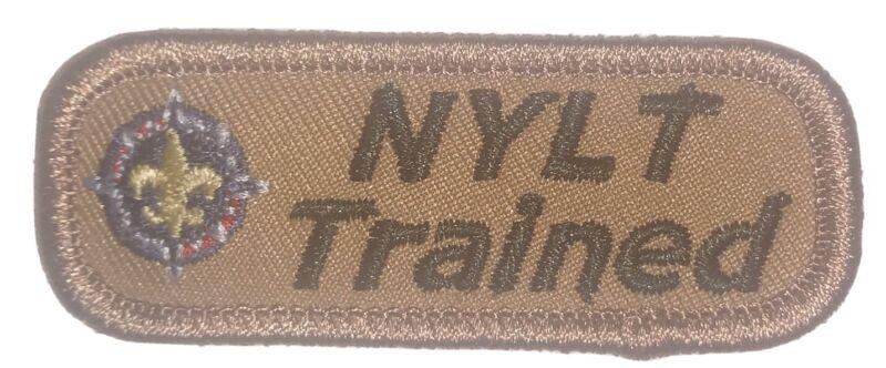 National Youth Leadership Training Trained strip NYLT- Non BSA NEW NYLT