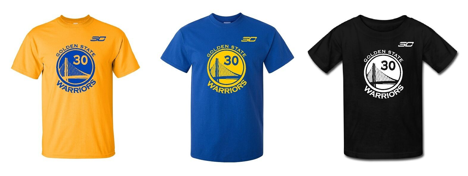 Stephen Curry Golden State Warriors T-Shirt Jersey #30