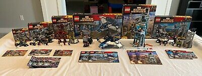Lego Marvel Super Heroes Avengers Age Of Ultron 6 Set 76031 76032 76038 76041 +2