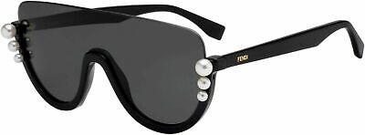 FENDI FF0296S Black Frame Pearl 99mm Lens Sunglasses